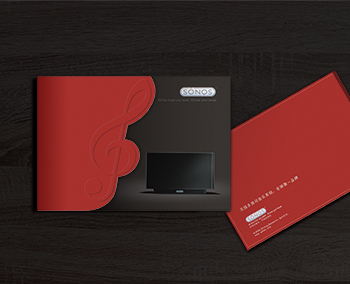 SONOS无线多房间音乐系统画册设计