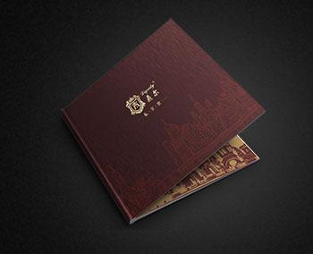 鼎尔高端酒柜宣传画册设计