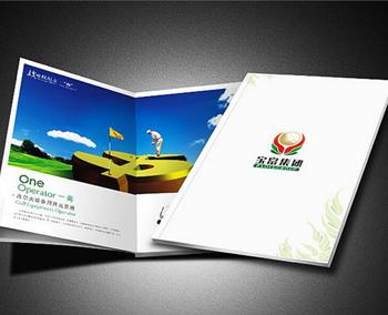 高尔夫画册设计