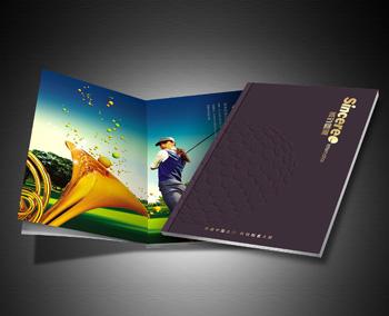 诚致国际高尔夫服务公司画册设计