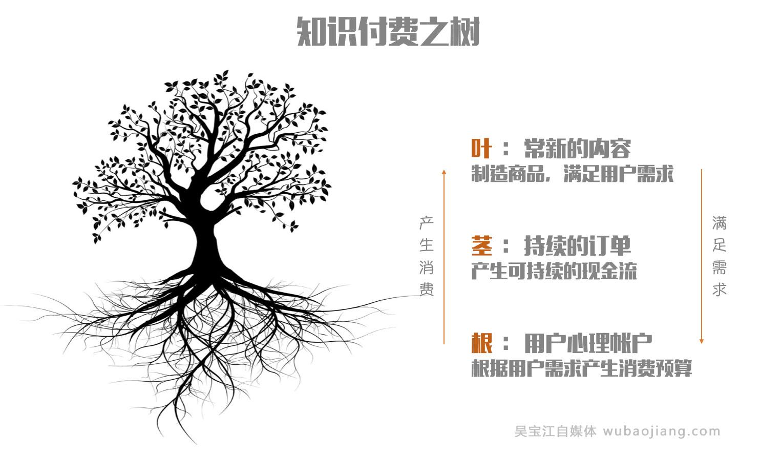 知识付费市场树状结构模式解读,制胜路线!