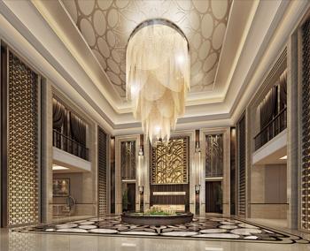 星级酒店空间设计作品