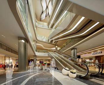 商场空间设计效果图